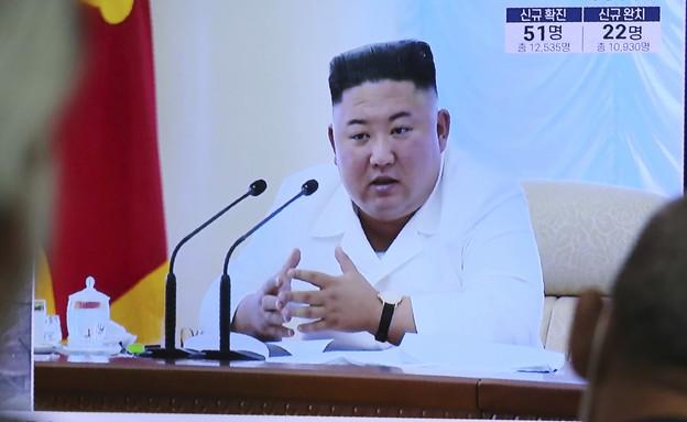 קים ג'ונג און (צילום: AP)