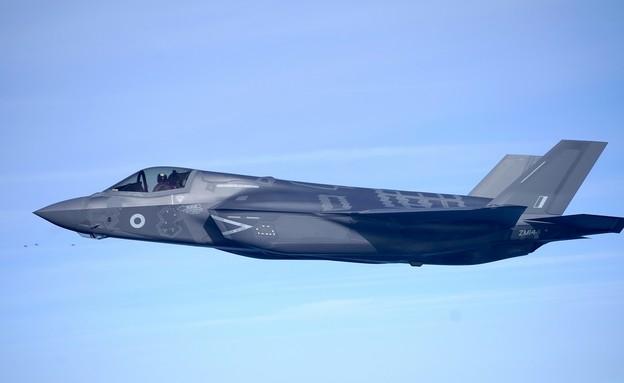 מטוס F35-B Lightning (צילום: Christopher Furlong/Getty Images)