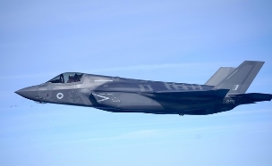 מטוס F35-B Lightning (צילום: Christopher Furlong/Getty Images)