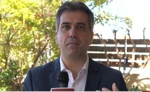 """שר הכלכלה אלי כהן עם בשורה לעצמאיים (צילום: מתוך """"חדשות הבוקר"""" , קשת 12)"""
