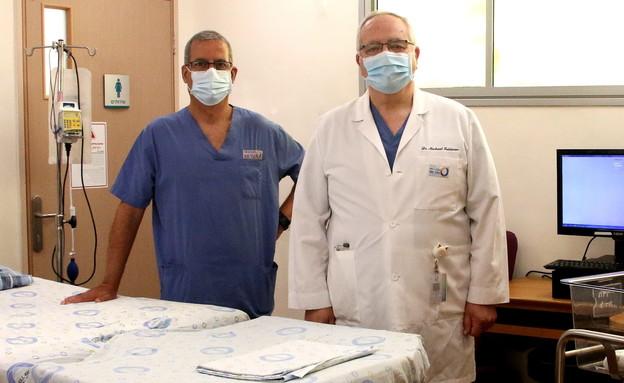 פרופ' מוטי חלק מנהל אגף נשים ויולדות בבית החולים הלל יפה (צילום: באדיבות בית החולים הלל יפה, יחסי ציבור)