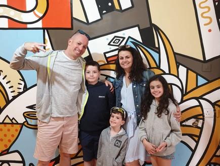 משפחת ישראלי (צילום: באדיבות המצולמים, צילום פרטי)