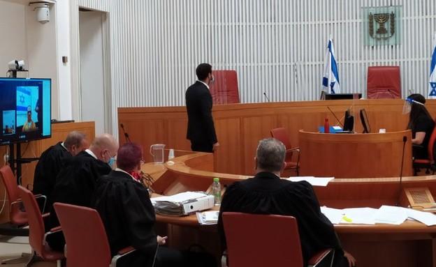 הדיון בבית המשפט העליון בערעורו של בן זוגה של תהילה נגר ז