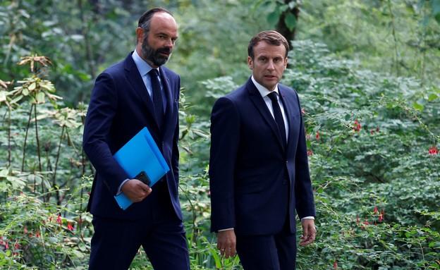 ראש ממשלת צרפת אדואר פיליפ (צילום:  none, רויטרס)