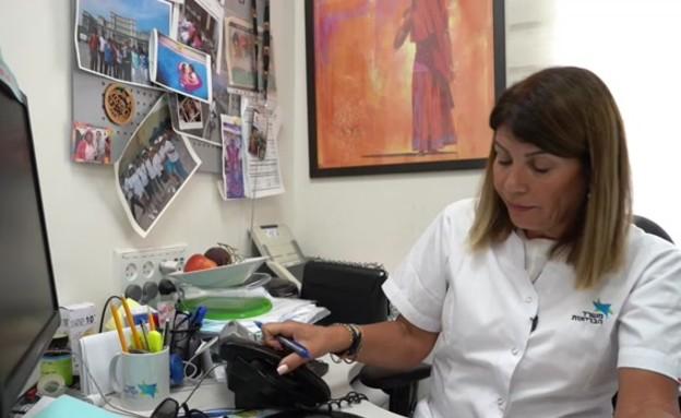 איריס אבטיל אחות אפידמיולוגית (צילום: חדשות)