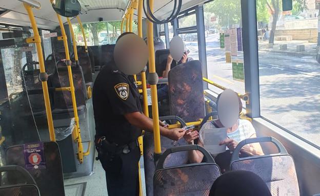 פעילות המשטרה במחוז הצפוני אכיפה והסברה (צילום: דוברות המשטרה)