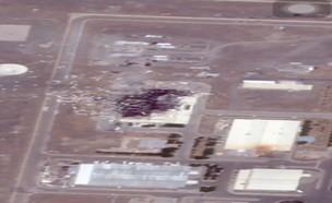 נזק כבד למתקן הגרעיני בנטנז