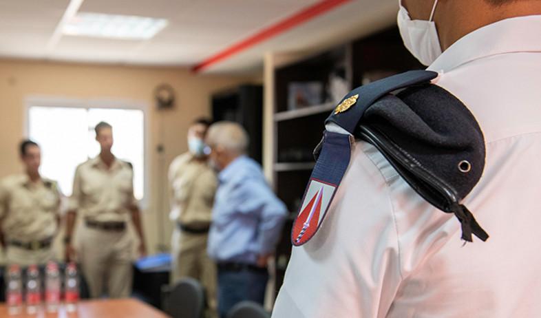"""המפגש בשייטת (צילום: אתר זרוע הים, דובר צה""""ל)"""