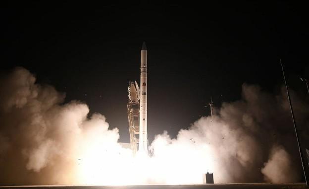 תיעוד: השיגור המוצלח של הלוויין