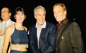 מייקל בולטון, ג'פרי אפשטיין, גיליין מקסוול (צילום: Davidoff Studios/Getty Images)