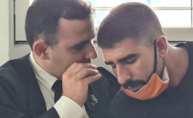 עורך הדין אייל אבולפיה ודוד אוראל ביטון