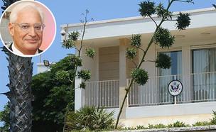 """בית השגריר ברחוב תכלת  (צילום: איל יצהר, קובי גדעון - לע""""מ, גלובס)"""