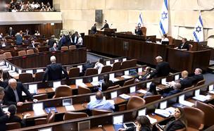 ישיר: הכנסת בדיון על התקציב (צילום: ערוץ הכנסת, חדשות)