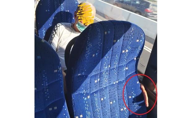 """הצעירה שהוטרדה במהלך נסיעה באוטובוס (צילום: מתוך """"פאולה וליאון"""", קשת 12)"""