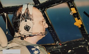 אמיר השכל בימיו כטייס (צילום: פרטי)
