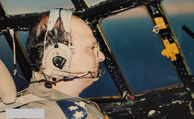 אמיר השכל בימיו כטייס (צילום: אלון חן)