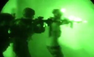תיעוד מבצע חיסול המבוקש (צילום: משרד ההגנה העיראקי, טוויטר)