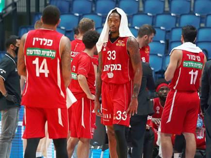 מכה קשה לעונה של ירושלים (צילום: אלן שיבר) (צילום: ספורט 5)