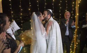 החתונה בוטלה - הישראלים נידבו את הגינה שלהם  (צילום: החדשות 12)