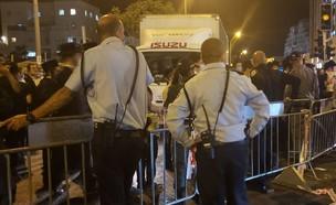 המשך הפגנה בעקבות הסגר בשכונת רוממה
