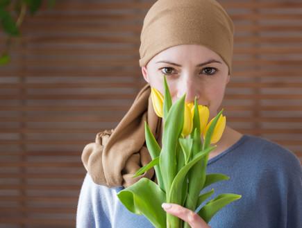 חולת סרטן (צילום:  ABO PHOTOGRAPHY, Shutterstock)