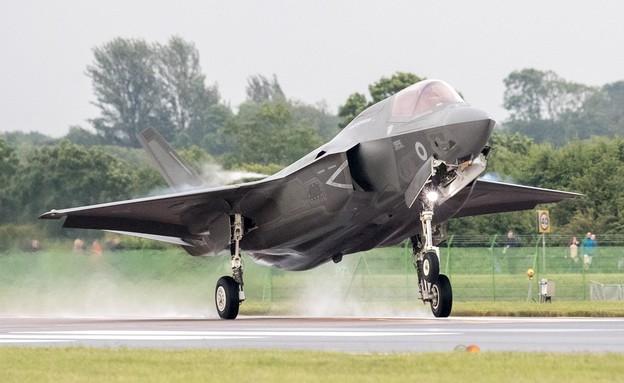 מטוס חמקן 35-F (צילום: Matt Cardy/Getty Images)