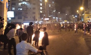 הפגנה בירושלים (צילום: יהודה וייסבורד)