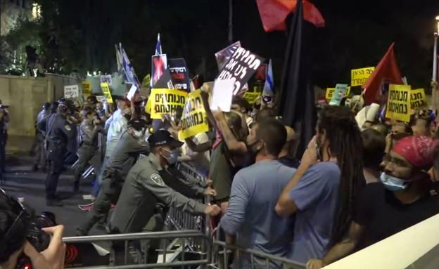 הפגנות אלימות בבלפור