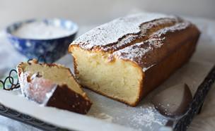 עוגת יוגורט וניל (צילום: קרן אגם, אוכל טוב)