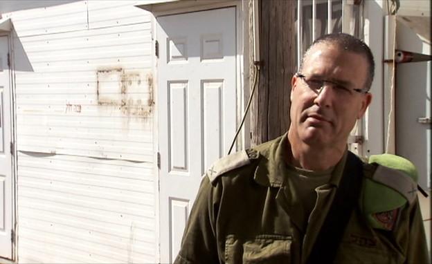 אלוף במיל' אמיר אבולעפיה (צילום: החדשות 12)