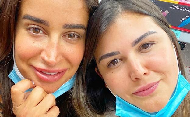מירב ישראל עוזרת לנזקקים. יולי 2020 (צילום: פרטי)