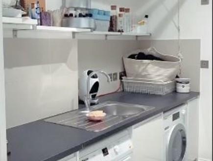 חדר הכביסה של סטייסי סולומון  (צילום: אינסטגרם staceysolomon)