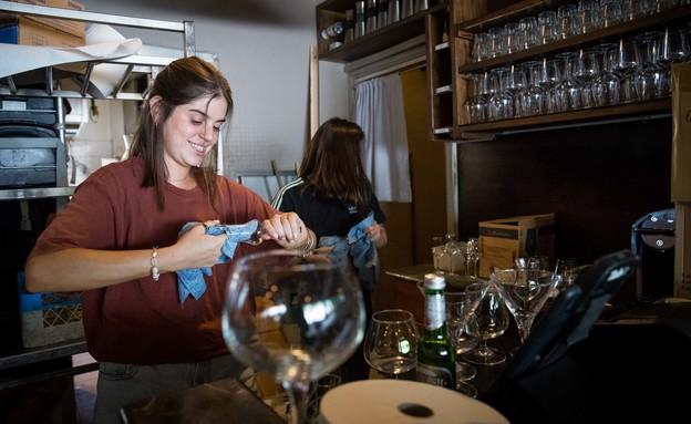 מרד בעלי המסעדות (צילום: Yonatan Sindel Flash 90, פלאש 90)