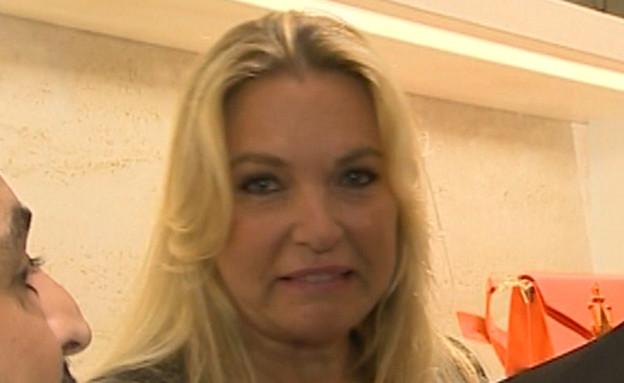 """ביקשה וקיבלה: בלי צלמים בבית המשפט (צילום: מתוך """"ערב טוב עם גיא פינס"""", קשת 12)"""