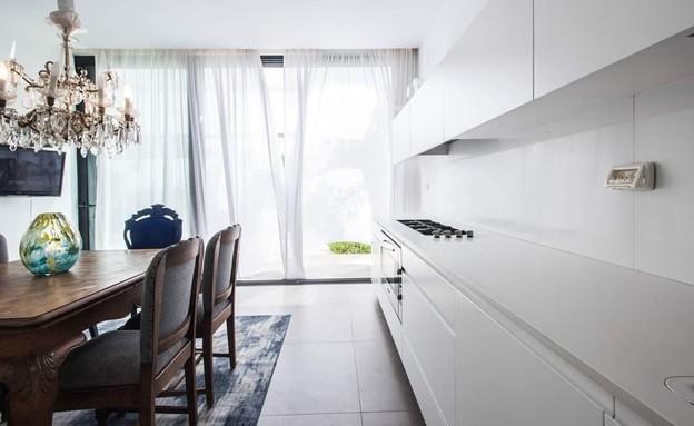 מטבח מעורב, עיצוב שרון הורוביץ (צילום: יוגב עמרני)