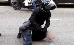 מעצר של השוטרים בצפון (צילום: אלון חן, פרטי)