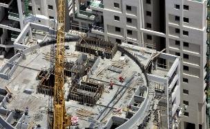 בנייה בישראל אילוסטרציה (צילום: Joe Raedle/Getty Images)