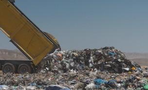 טובעים בזבל: ישראל מטמינה הכי הרבה זבל במערב (צילום: N12)