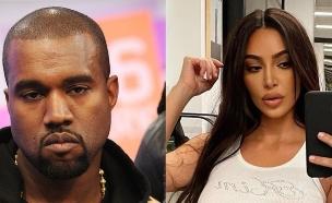 קים קרדשיאן וקניה ווסט. יולי 2020 (צילום: getty + @kimkardashian, getty images)