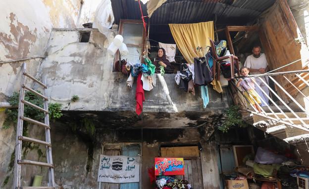 עוני בלבנון (צילום: רויטרס)