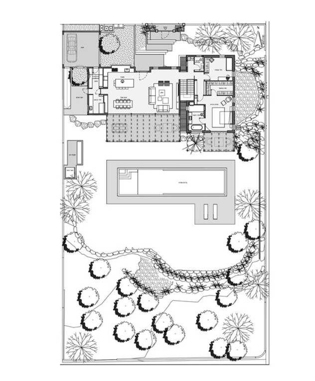 בית בשרון, עיצוב גילי זילברברג