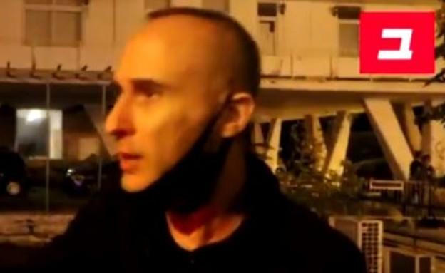 אסף אמדורסקי  (צילום: צילום מסך מתוך באזנט)
