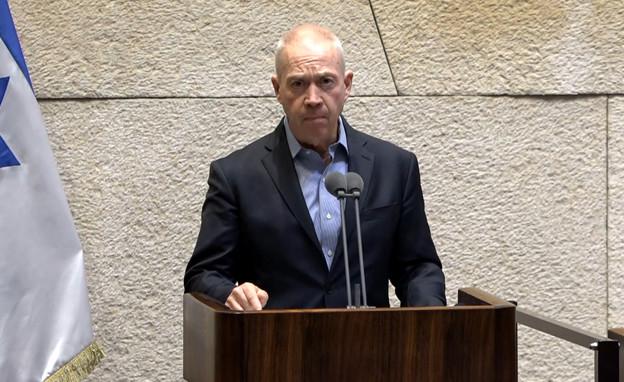 שר החינוך יואב גלנט (צילום: ערוץ הכנסת)