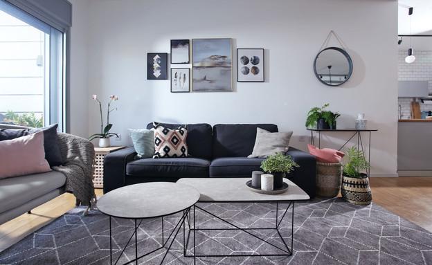 שולחנות סלון, contrast, עיצוב דניאלה דנור (צילום: סוזי לוינסון)