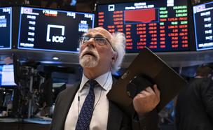 סוחר בבורסה של ניו יורק (צילום: ap)