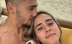 עומר אצילי ואשתו (צילום: instagram/omeratziliiii  )