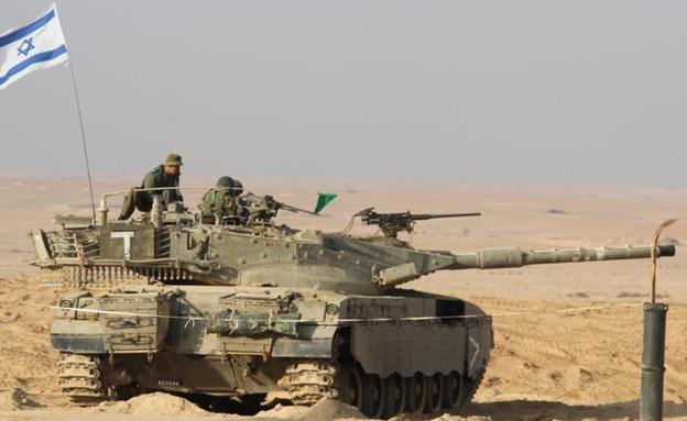 טנק צה''ל (צילום: דובר צה