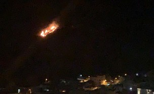 דיווח: תקיפה ישראלית בסוריה (צילום: דנא ספדי)