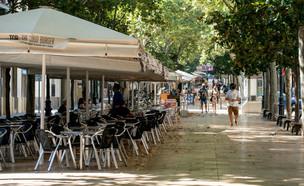 רחוב רמבלה בהוספיטלט דה יוברגאט (צילום: Cesc Maymo, Getty Images)