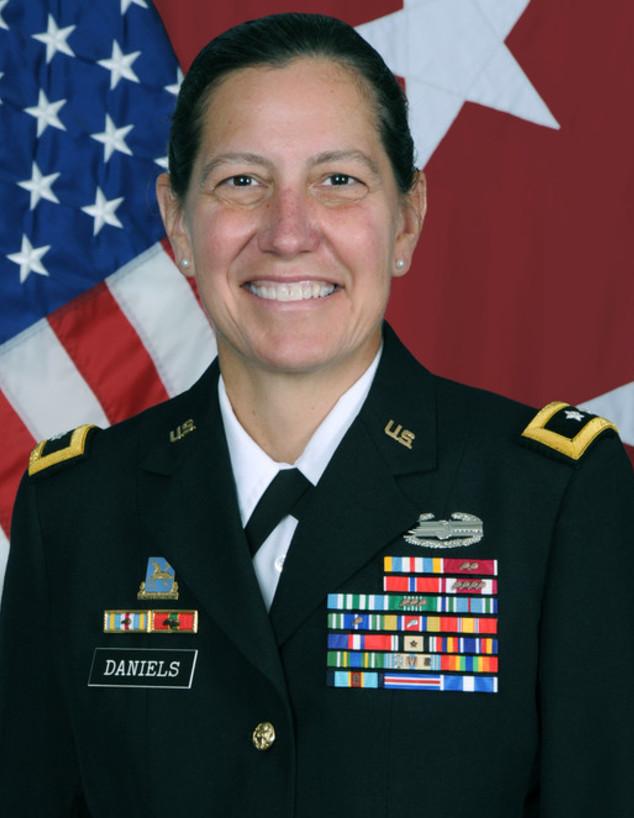 """הגנרלית (צילום: צבא ארה""""ב)"""